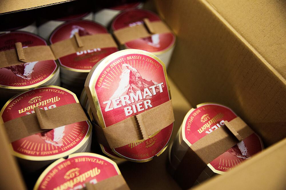 Zermatt Bier Etiketten  ACHTUNG! GmbH Bern