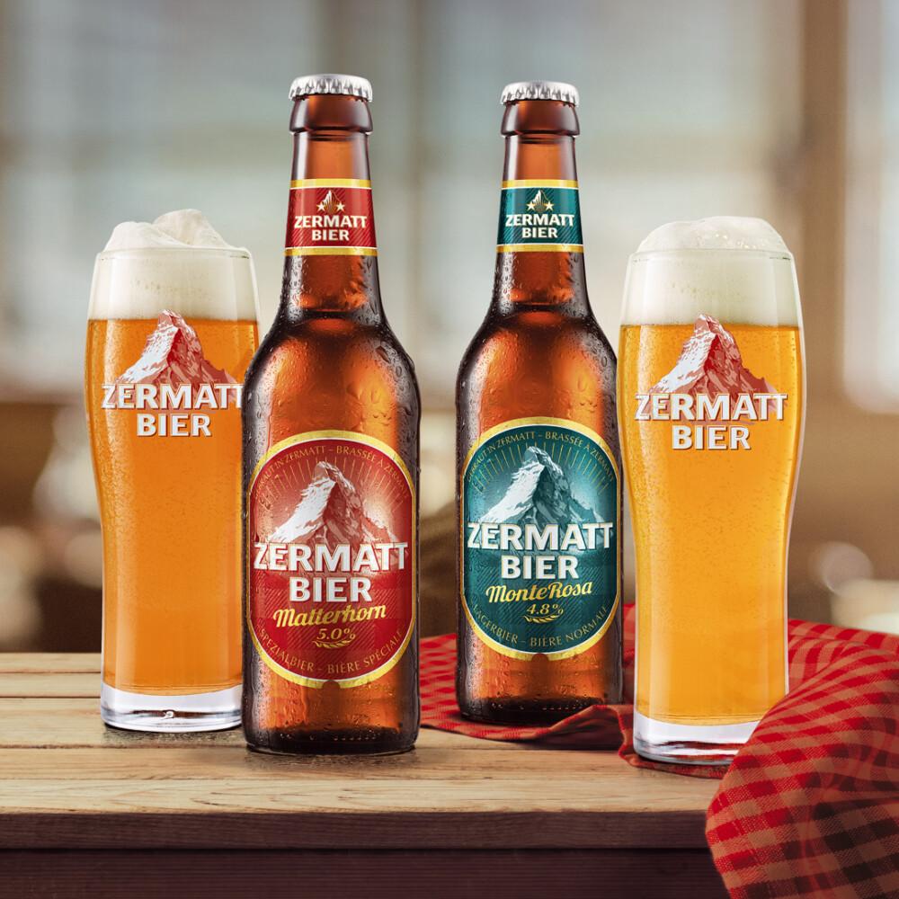 Zermatt Bier Stillife  ACHTUNG! GmbH Bern